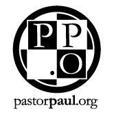 Pastor Paul's Mission