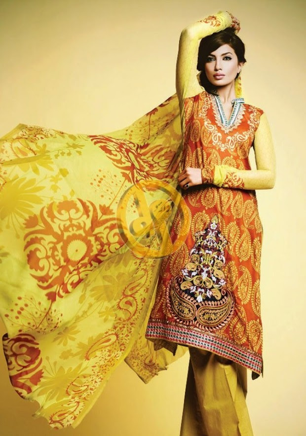 Dawood-Textile-Girls-Women-Printed-Lawn-Prints-Fashion-Suits-Kuki-Concepts-Fall-Winter-Collection 2013-14-3