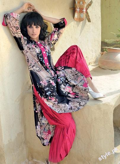 Latest G Women Summer Collection 2012 by Gul Ahmed 2