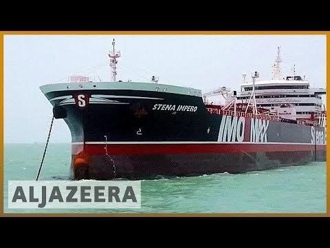 BREAKING: Iran capture British oil tanker in Strait of Hormuz