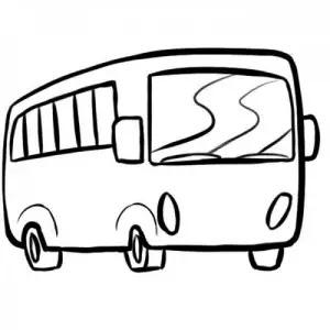 Bus Para Colorear