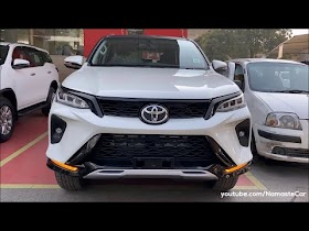Toyota Fortuner Legender 2021- ₹44 lakh | Real-life review