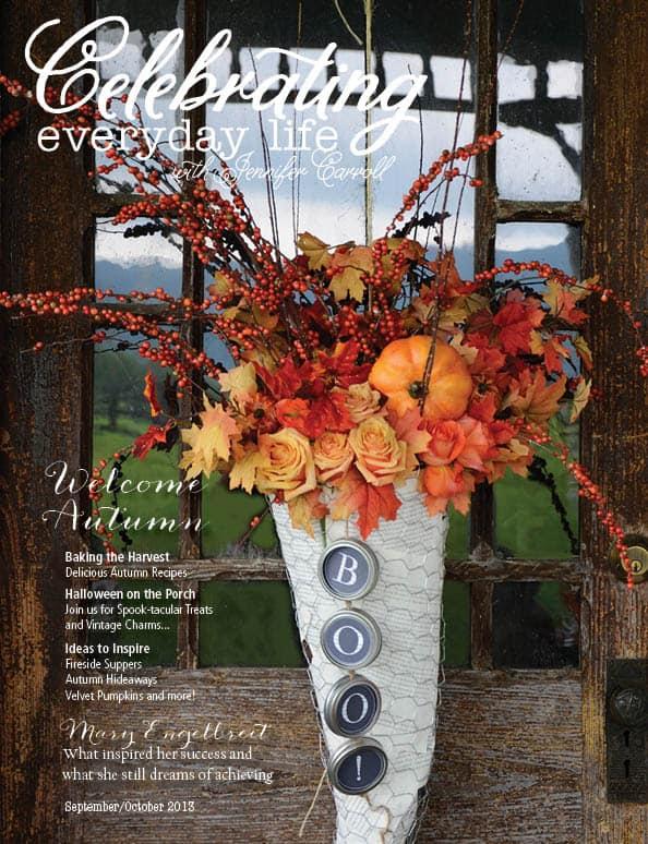 Celebrating Everyday Life with Jennifer Carroll September|October 2013 Cover Image