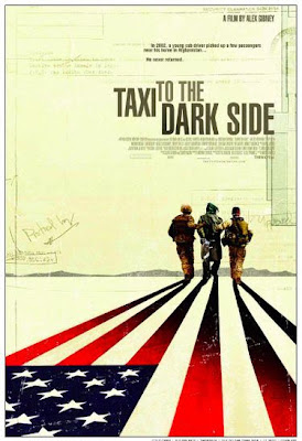 Censored poster for 'Taxi to the Dark Side'
