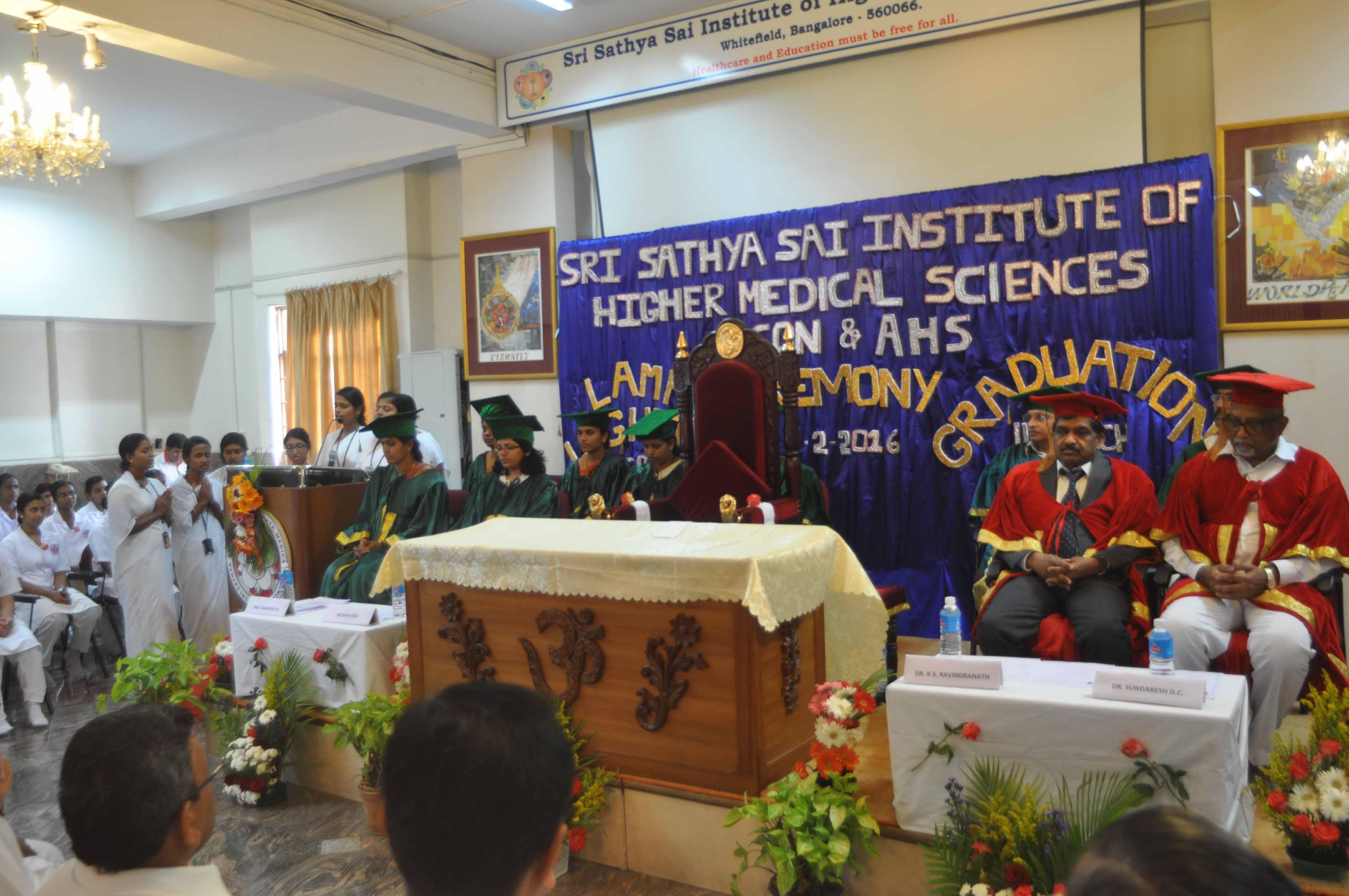 Report On Graduation Lamp Lighting Ceremony