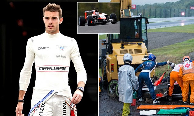 Jules Bianchi dies 9 months after F1 driver crashed at Japanese Grand Prix 2014