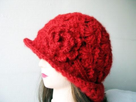 PDF  Tutorial  Crochet Hat Pattern