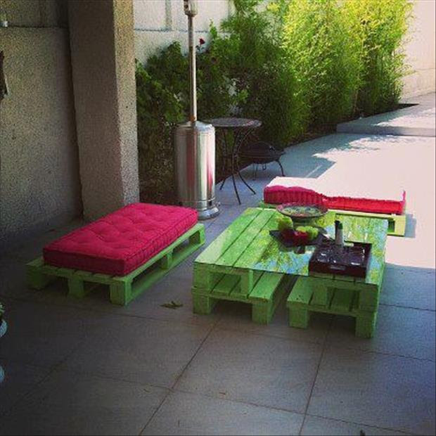 16 DIY Outdoor Furniture Pieces | Beauty Harmony Life
