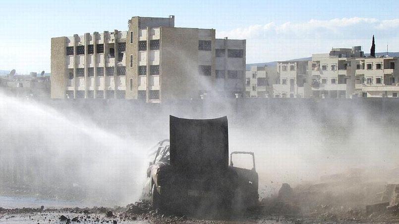 Reuters/Abdalghne Karoof. Alep, le 26 mars 2014