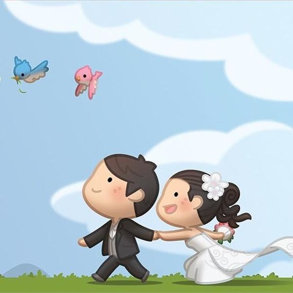 60 Cute Cartoon Couple Love Images Hd
