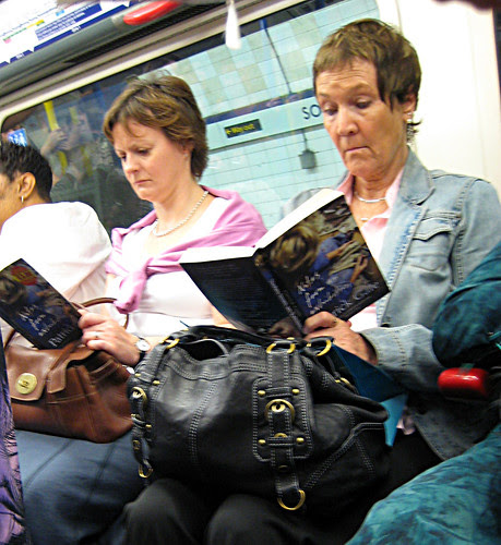 Book Twins on the Tube