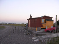 Beach Hut at Lowsy Point