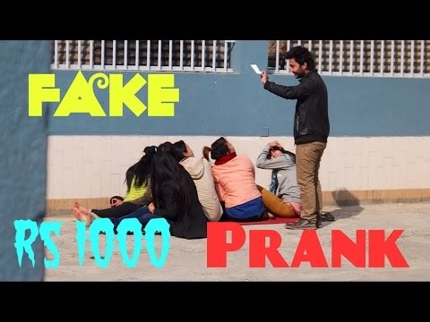 NepaliPranksters- Fake Rs1000 (Social Experiment)