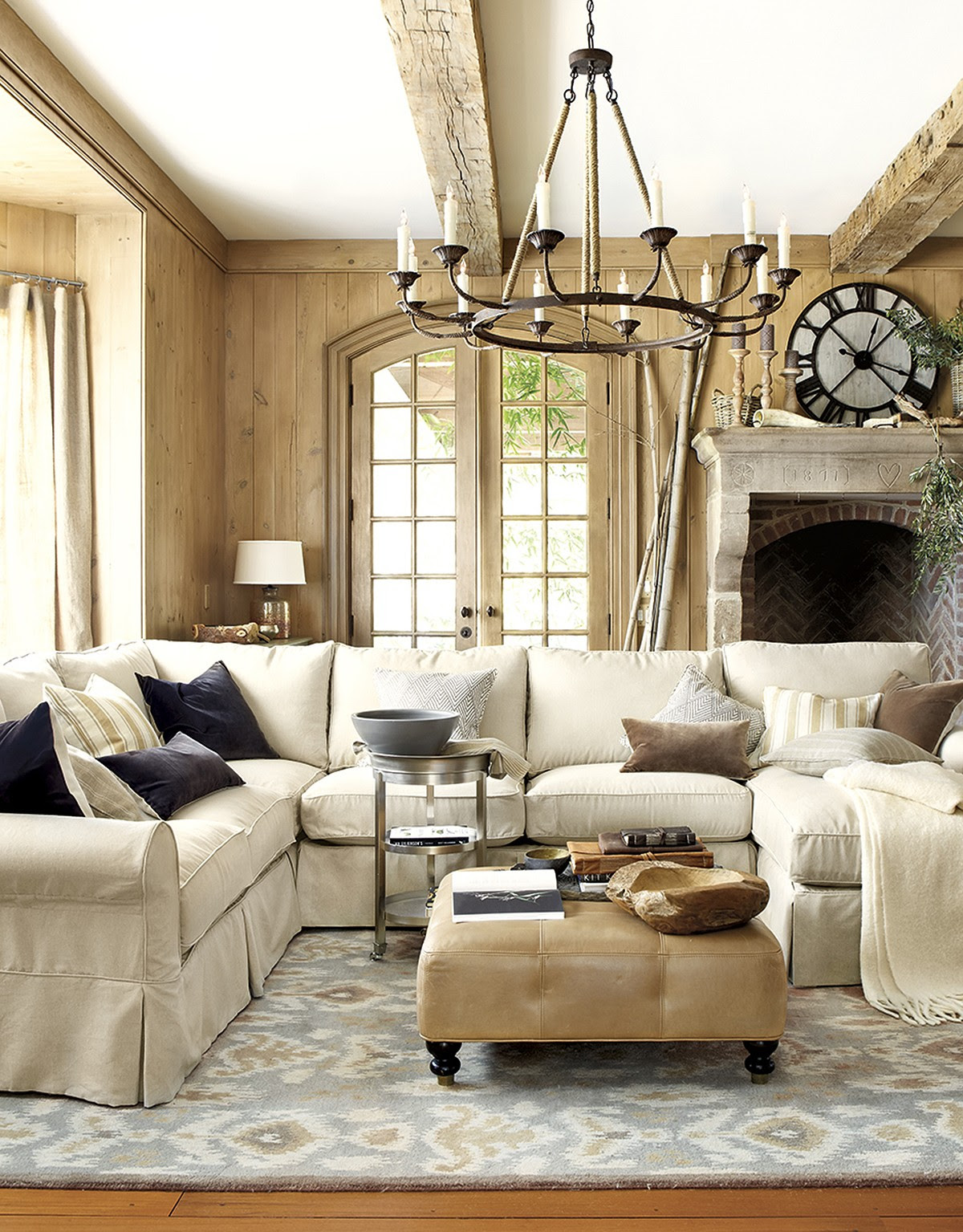 25 Warm Living Room Design Ideas For Comfortable Feel ...