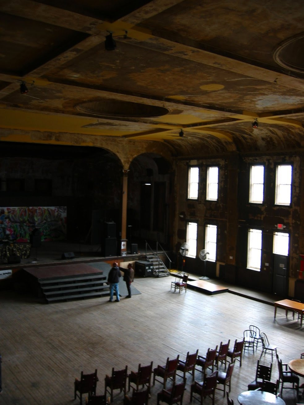 Turner Hall restoration - Milwaukee - the stage - soul-amp.com