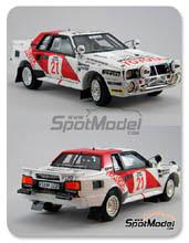 Kit 1/24 Scuderia Italia.Lab - Toyota Celica TA64 Group B - Nº 21 - Safari Rally 1985 - 1986 - kit Multimedia