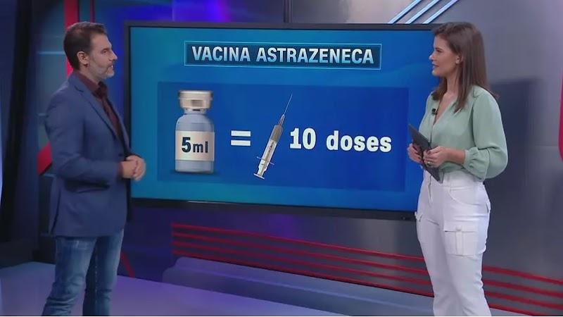 VÍDEO: Ampola da vacina de Oxford tem capacidade de 5ml e pode ser aplicada em até dez pessoas