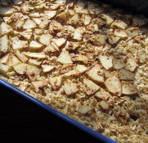 Baked Oatmeal, Baked