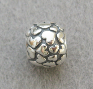 Spacer Bead- Heart Ball
