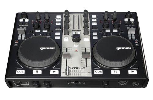Mixeurs Dj Gemini Cntrl 7 Contrôleur Dj Usb Table De