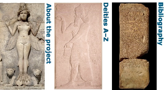 about the site, deities a-z, bibliography
