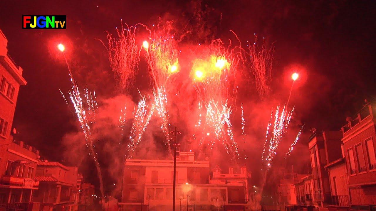 Castillo Piromusical Fuegos Artificiales - Festa La Vila 2014 - La Vilavella