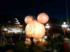 Halloween Decor on Main Street