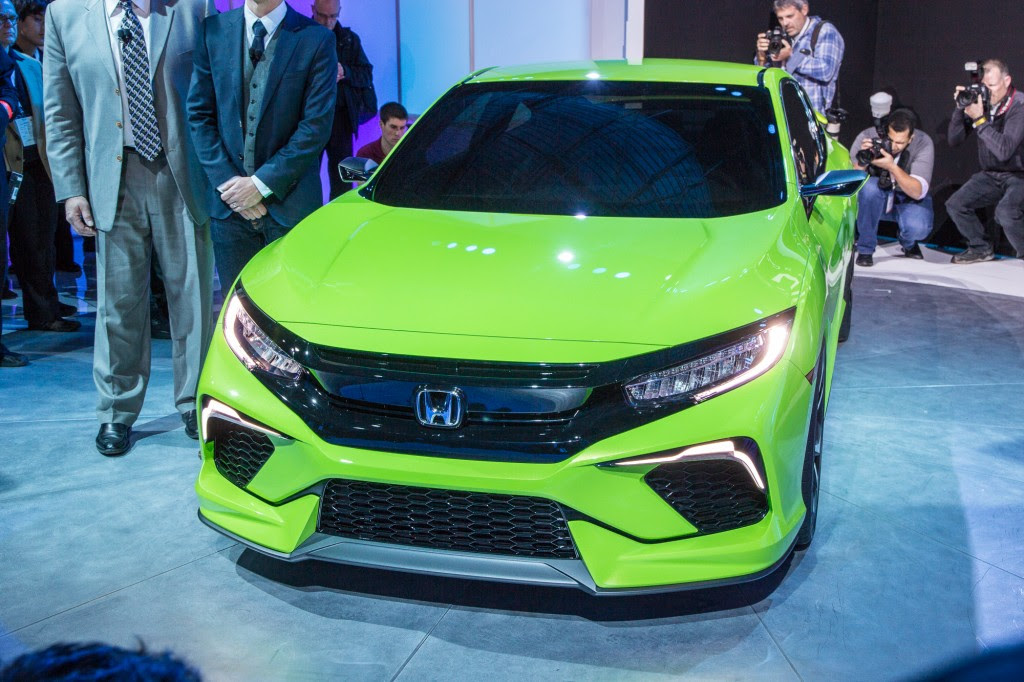 2016 Honda Civic New York Auto Show