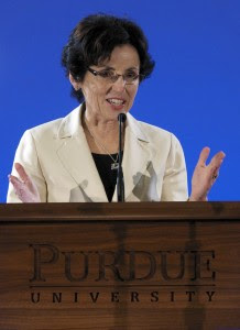 Under Cordova's presidency, Purdue University attracted record levels of research funding.