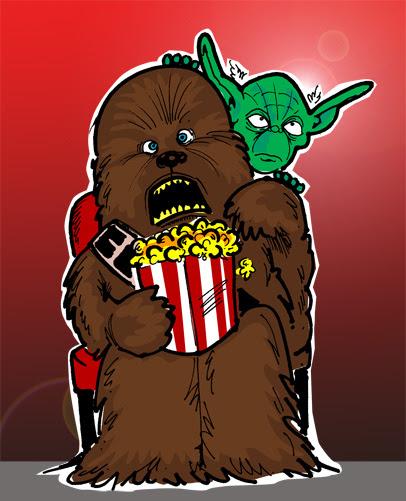 Chewbacca and Yoda