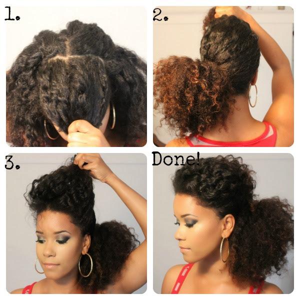 acconciature capelli ricci raccolti fai da te - Acconciature fai da te Capelli Ricci (Foto) PourFemme
