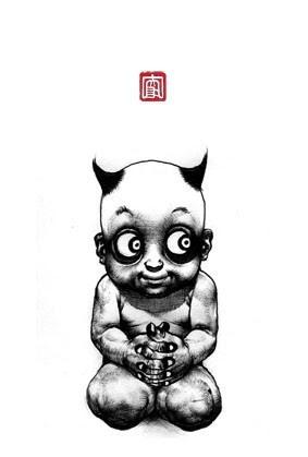 Японский художник Шохей <br />Омото (Shohei Otomo)