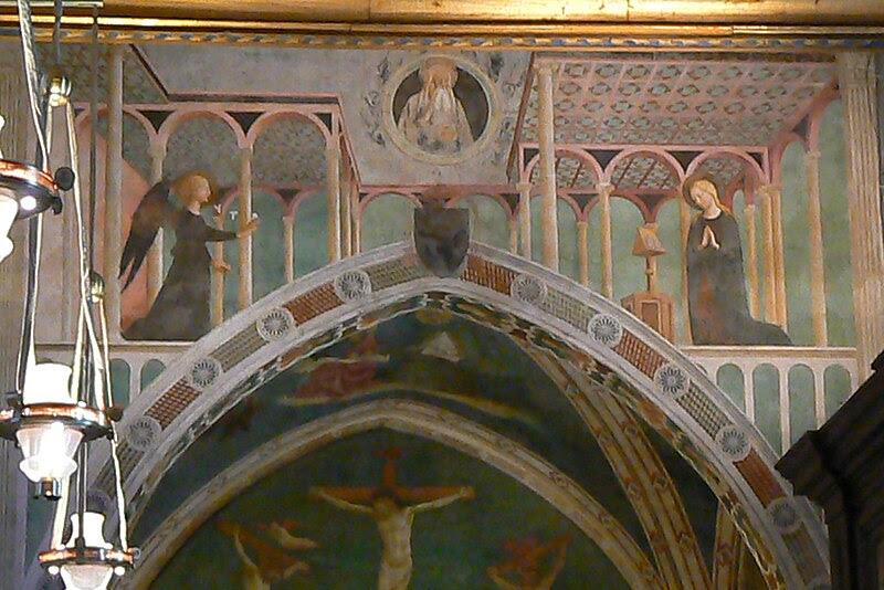 File:Roma San Clemente Capella Santa Caterina2.JPG