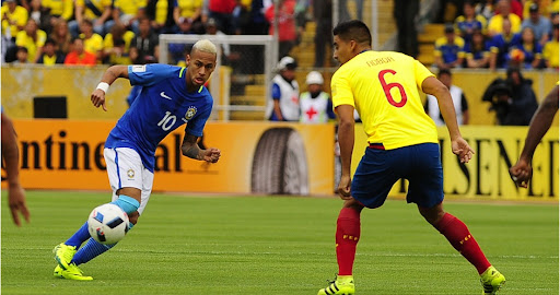 Resultado de imagen para Brasil vs. Ecuador Eliminatorias