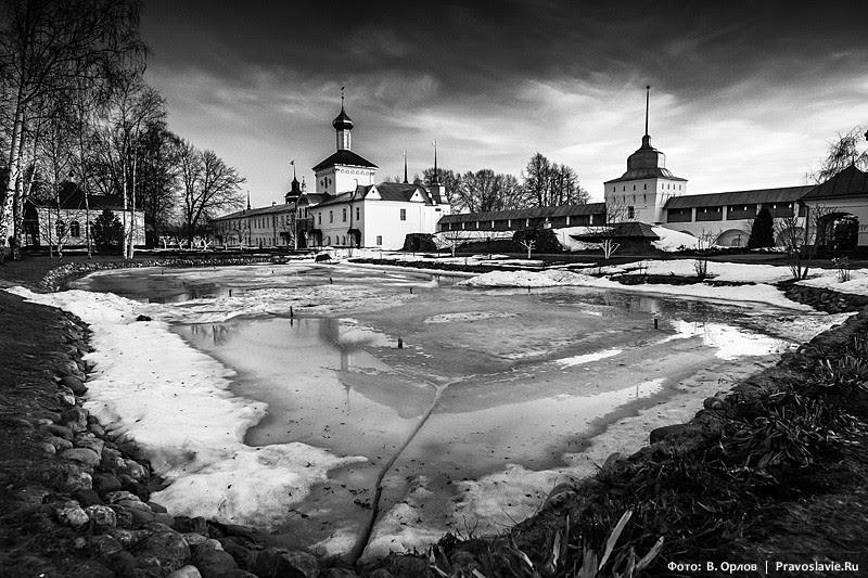 Το μοναστήρι το χειμώνα.  Φωτογραφία: Vladimir Orlov / Pravoslavie.Ru