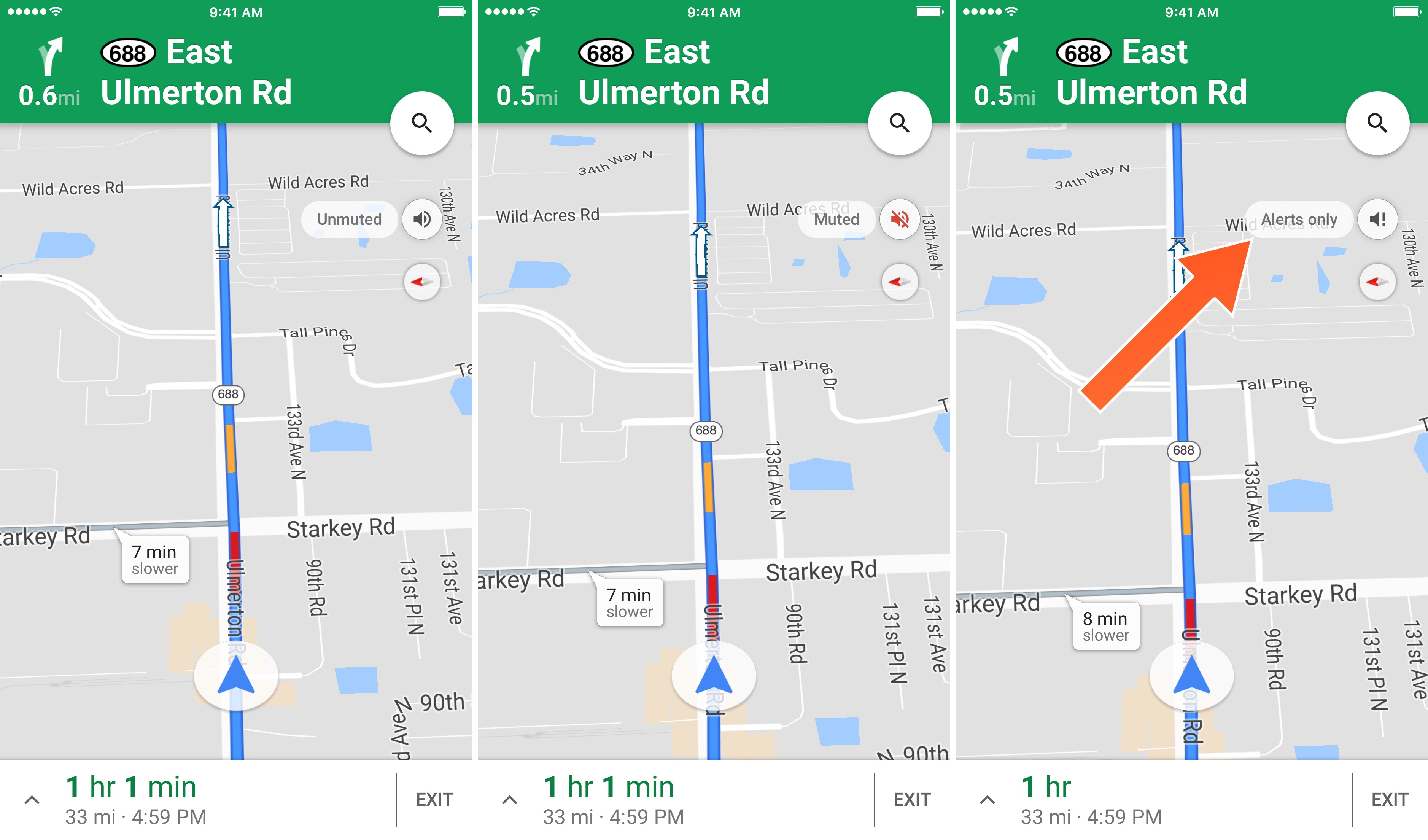 How To Disable Vocal Alerts For Turn By Turn Directions In