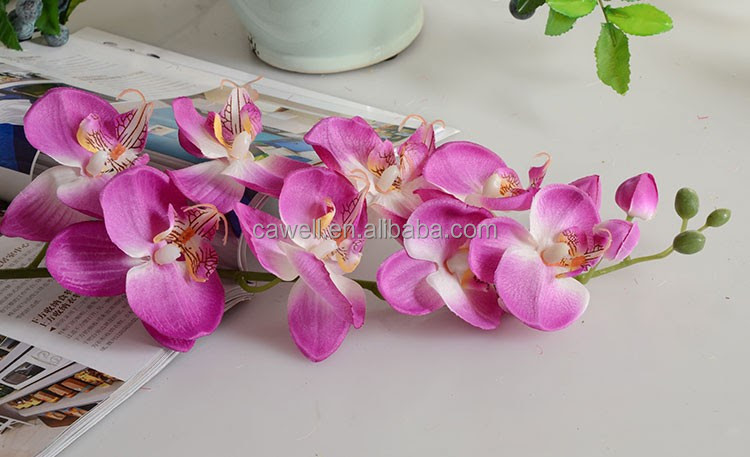 Wholesale Silk Artificial Orchid Flower For Sale  Buy
