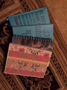 My 4 journals