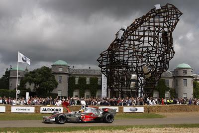MacLaren F1 Car @ Goodwood Festival Of Speed 2008