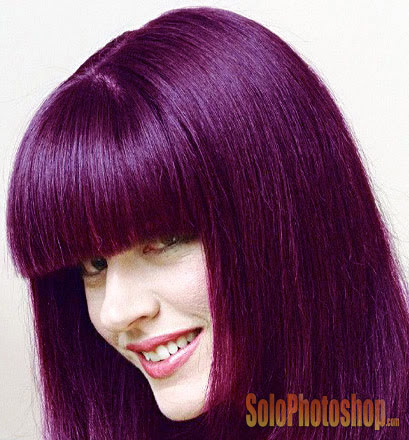 Cambiar Color Del Cabello Solo Photoshop