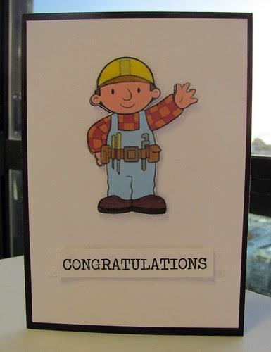 """Kieran """"Bob"""" the Builder"""