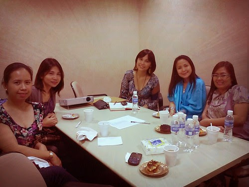 Mobile blog: Baby company meeting with mommy bloggers by popazrael
