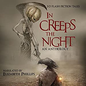 The cover image of the In Creeps the Night audiobook on Amazon