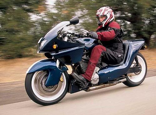 Gurney's Alligator Motorcycle