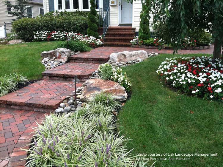 front yard landscape idea 1