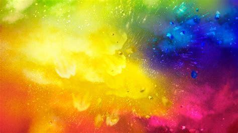 Free Holi Splash ChromeBook Wallpaper Ready For Download