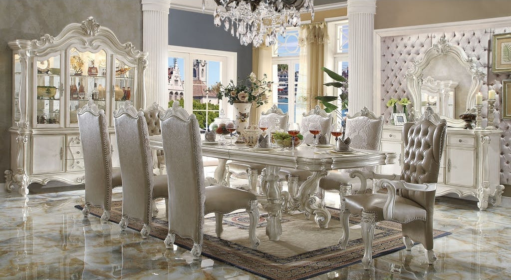 The Versailles White Royal Dining Room Collection - Miami ...