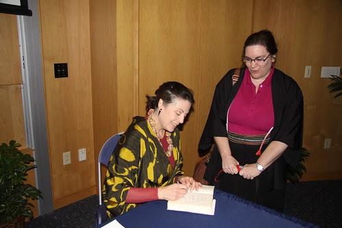 Professor Liza Dalby autographs for April