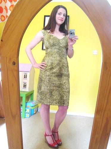 leopard dress full