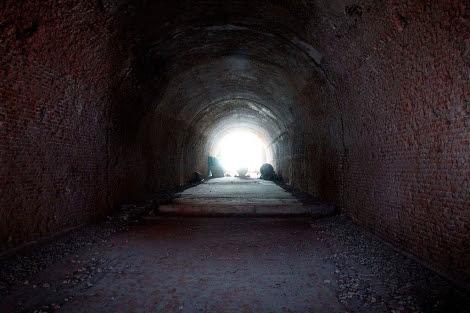 Túnel de Bonaparte en el Palacio Real de Madrid.  Diego Sinova